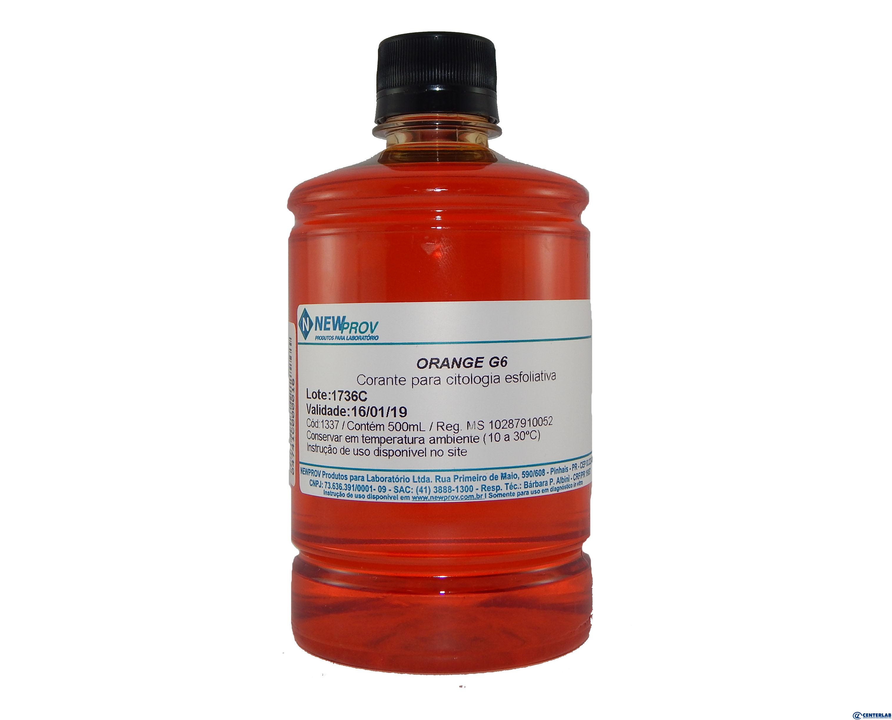 Orange G             500 Ml Newprov  - Cod. 04741