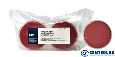 Agar Sangue C/10 Laborclin  - Cod. 12136